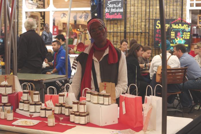Grace from Bonbon Cafe- Greenwich Market London
