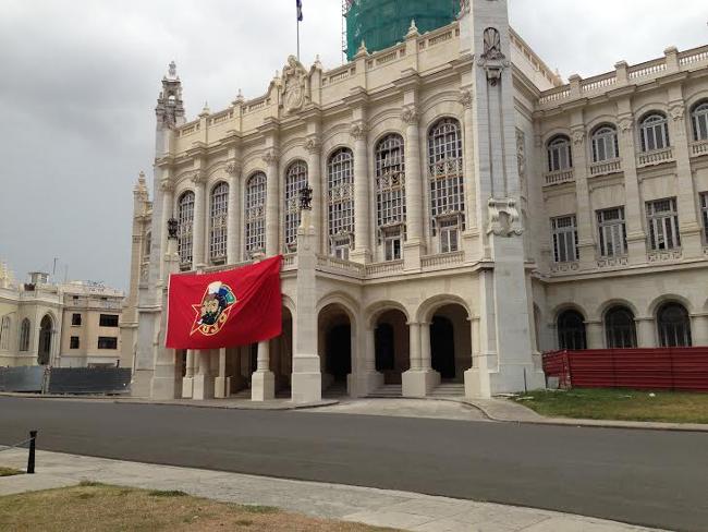 Cuba government building in Havana
