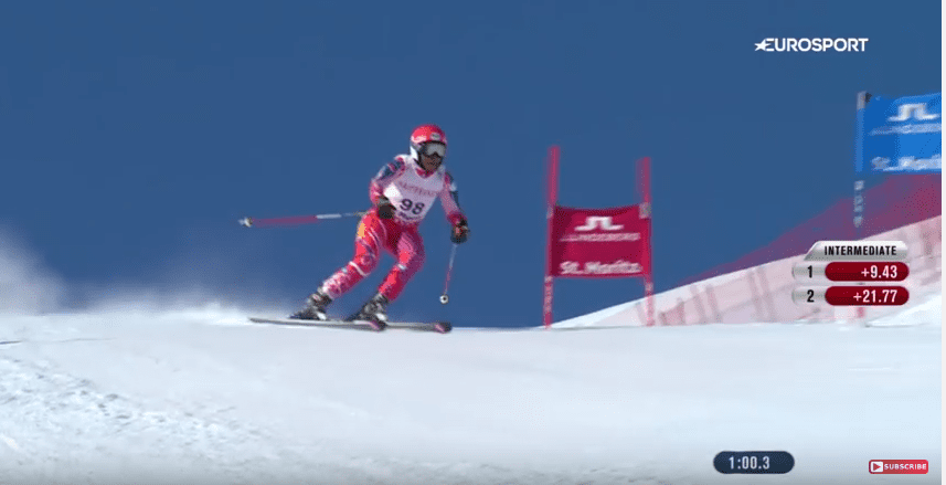 Watch This Haitian Woman's Impressive Ski Performance After 3 Months Training 2