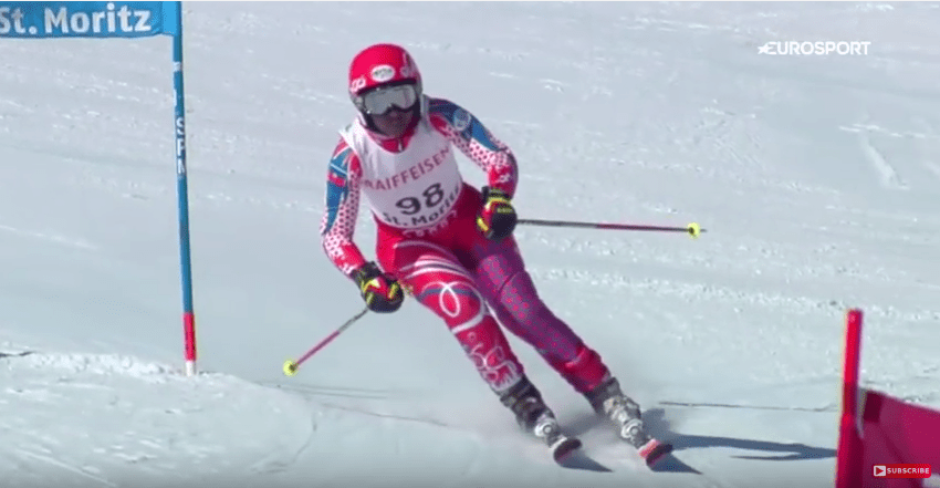 Watch This Haitian Woman's Impressive Ski Performance After 3 Months Training 1