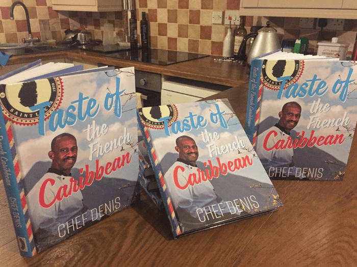 St. Lucian Chef Has Published His First Book of Original Recipes 1